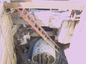 Installation of New Storm Drains, Sewers, and Water Main