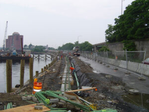 Fall River Waterfront Access Walkway on Taunton River Project