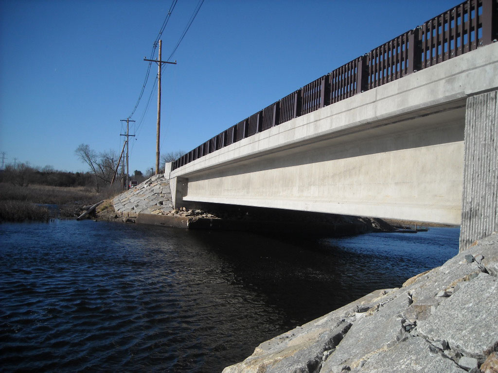 Wayland Bridge Replacement Construction Project
